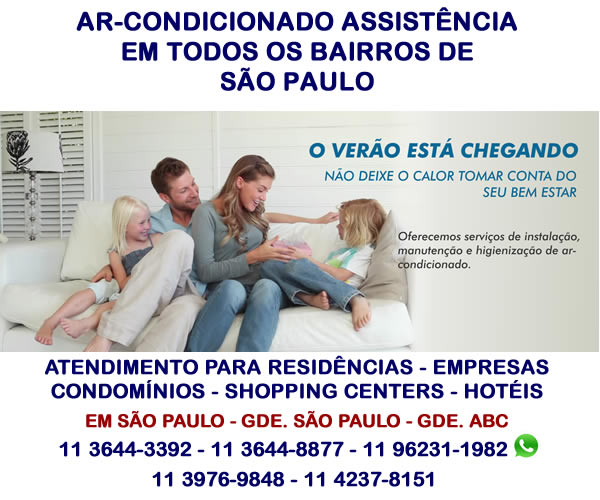 ar-condicionado assistencia